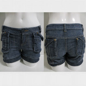 Mossimo shorts 3 low rise jean denim pockets